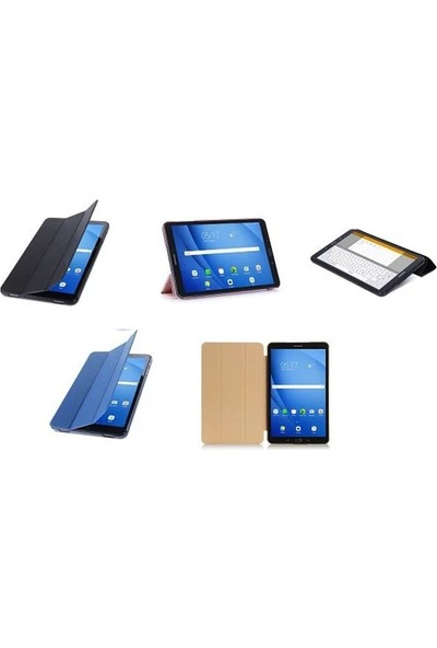 "EssLeena Samsung Galaxy Tab S3 9.7"" SM-T820/T825/T827/829 SlimFit Smart Case Tablet Kılıfı Mor"