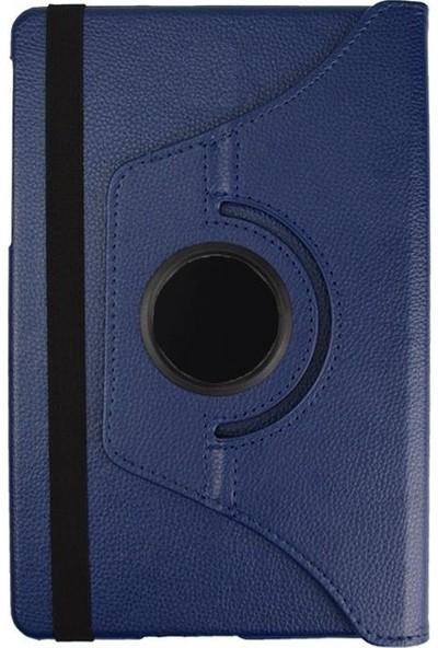"Windys Samsung Galaxy Tab A6 SM-P580/P585 10.1"" 360 Derece Dönebilen Kılıf (Kalemli Model) Lacivert"