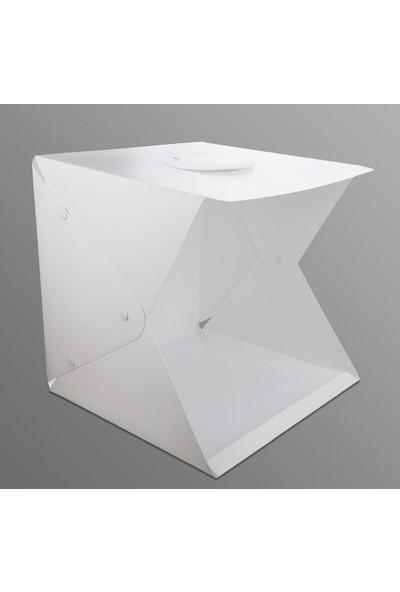 Best Çekim Çadırı 4 Fonlu Kırmızı Yeşil Beyaz Siyah 40x40x40 cm