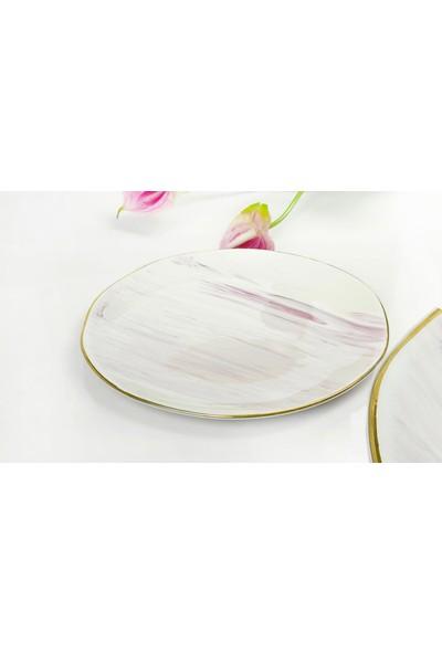 YGC Porselen Özel Tasarım Servis Tabağı 26 cm