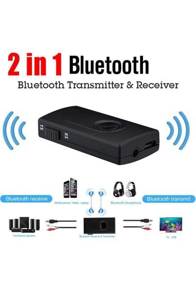 Schulzz Bluetooth V4.2 Stereo Ses Müzik Verici Alıcı A2DP Yüksek Hız Aptx