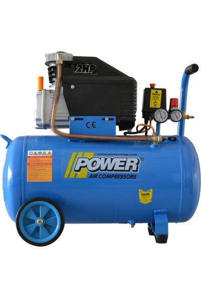 Power 50 lt 2 Hp Yağlı Kompresör
