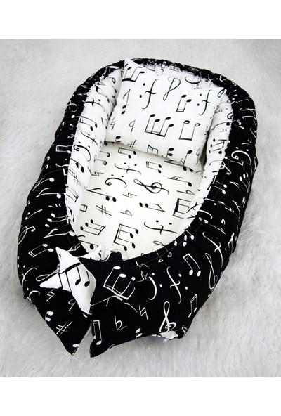 Modastra Nota Tasarımlı Özel Melodi Baby Nest
