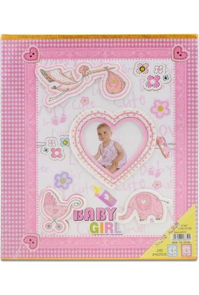 Fz Bebek Fotoğraf Albümü Kalpli Kapak