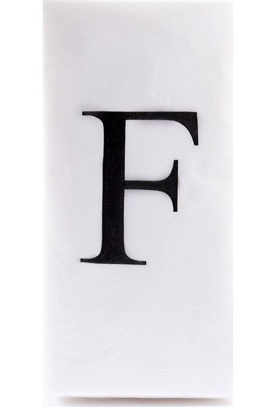The Company F Harf Peçete 33 cm