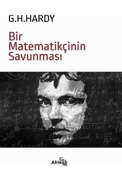Bir Matematikçinin Savunması - G.H.Hardy