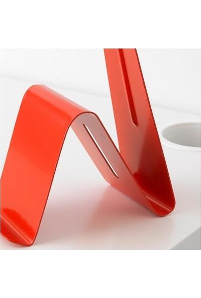Möjlighet Cep Telefonu - Tablet ve Kulaklik Standı - Kırmızı