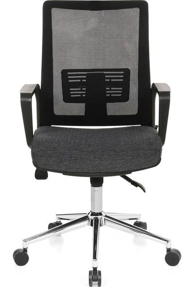 Seduna Terra XLeader Siyah Ofis Çalışma Koltuğu Personel Koltuğu