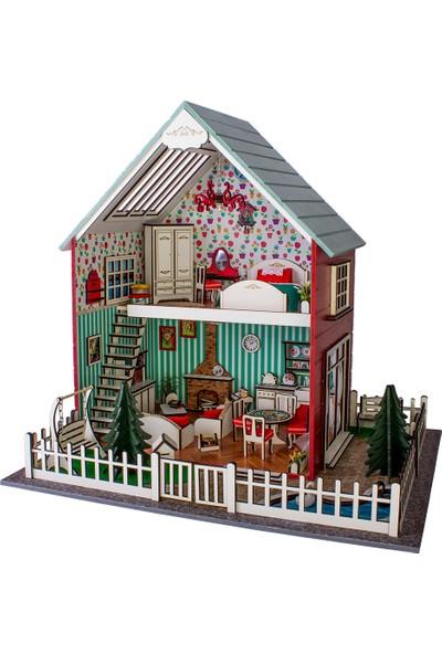 Hande's House Villa Kırmızı Aydınlatmalı
