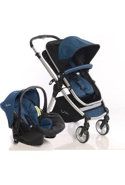 Pierre Cardin Trendy Travel Sistem Bebek Arabası Mavi