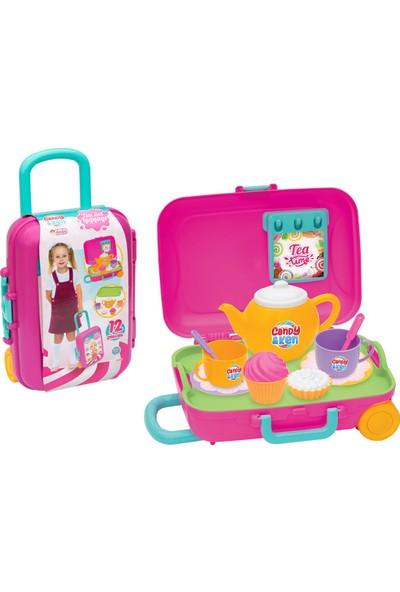 Dede Candy & Ken Çay Set Bavulum