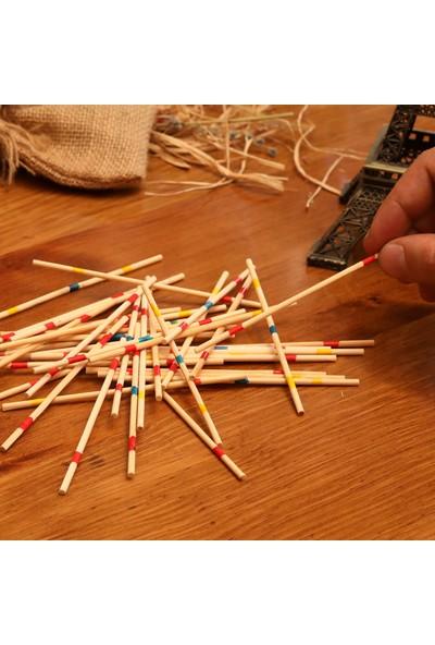 Mikado Spiel Renkli Akıl Zeka Oyun Çubukları
