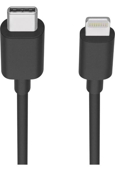 Fonemax USB-C to Lightning USB Şarj ve Data Kablosu - Siyah