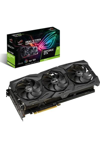 Asus ROG Strix GeForce GTX 1660 Ti Gaming Advanced Edition 6GB 192Bit GDDR6 (DX12) PCI-E 3.0 Ekran Kartı (STRIX-GTX1660TI-A6G-GAMING)