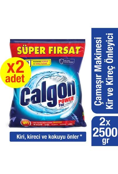 Calgon Çamaşır Makinesi Kireç Önleyici Toz 2 x 2500 gr