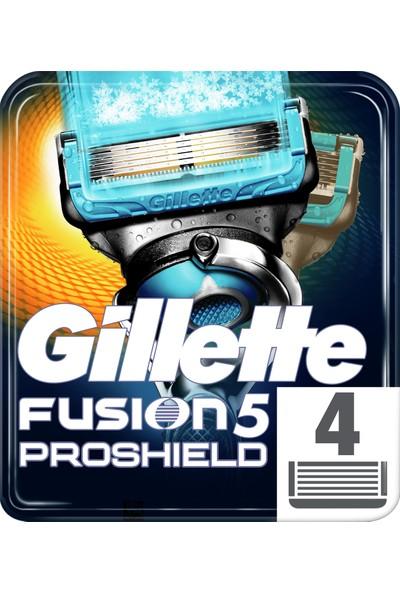 Gillette Fusion Proshield* Chill Bıçak 4'lü