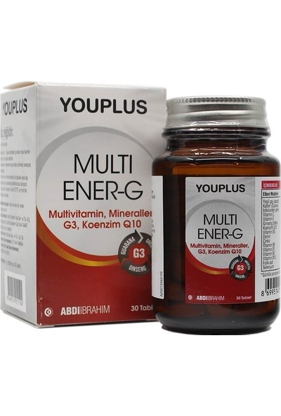Youplus Multi Ener-G Multivitamin 30 Tablet