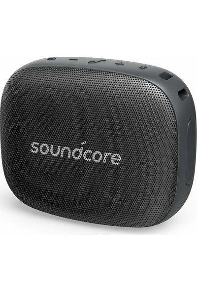 Anker SoundCore Icon Mini IP67 Su ve Toza Dayanıklı Kablosuz Bluetooth Hoparlör Siyah A3121 - 3 Watt Ses Bombası