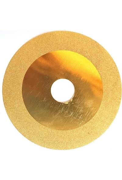 Pultuva Elmas Kesme Cam Kesme Elmas Bi̇leme Di̇ski̇ 100 x 1 x 20 Sarı