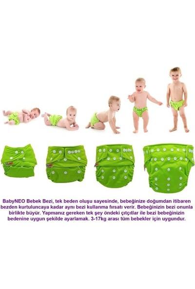 BabyNEO Bambu Yıkanabilir Bebek Bezi Teddy