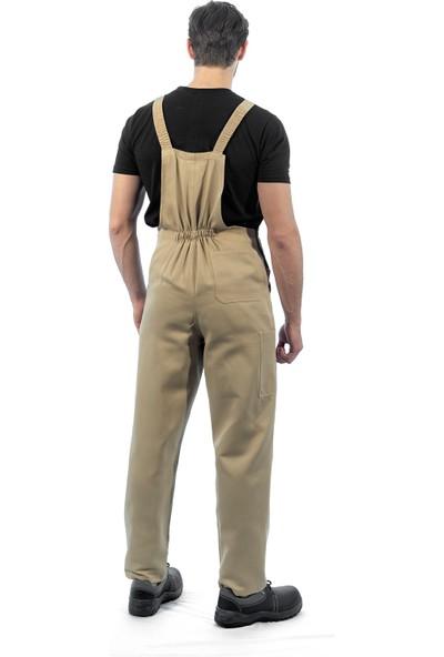 Şensel Askılı Bahçıvan Tulum Kanguru Cepli İş Elbisesi