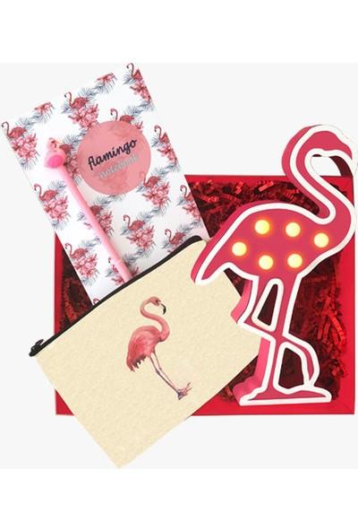 Konsept Kutu Flamingosever Hediye Kutusu