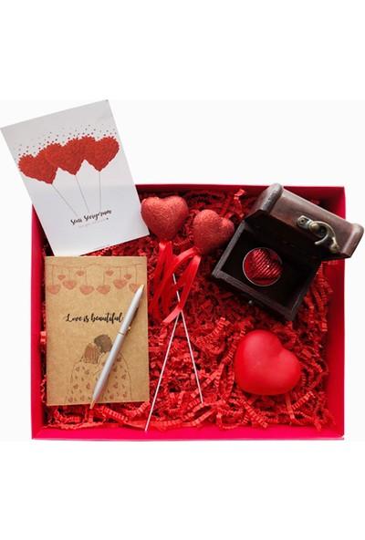 Konsept Kutu Aşkını Sakla Hediye Kutusu