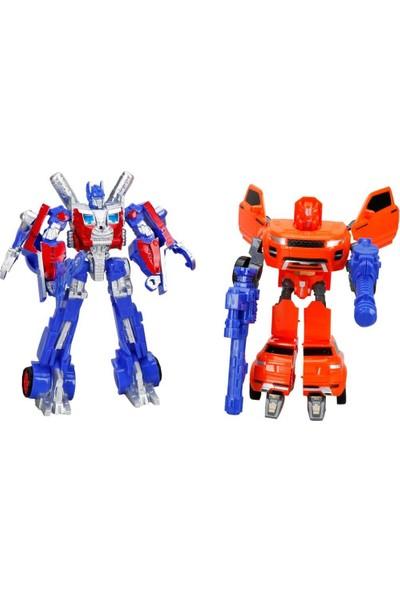 Sunman Transformer Işıklı 2'li Power Robot