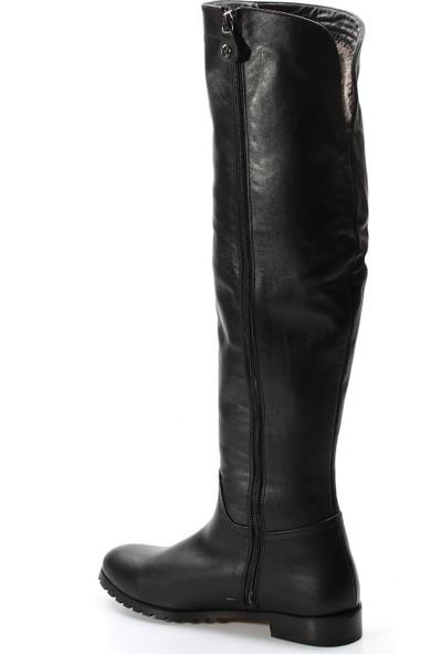 Fast Step Kadın Çizme 064Sza1556 Siyah