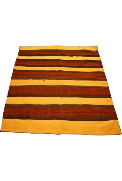 Durusel Halı El Dokuma Cicim Yün Kilim 113 x 140 cm