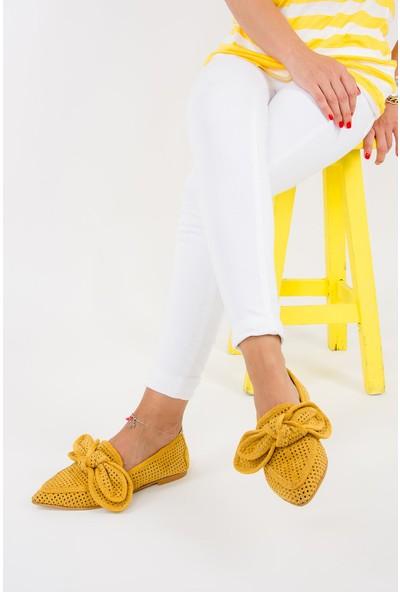 Fox Shoes Hardal Kadın Ayakkabı F615681102