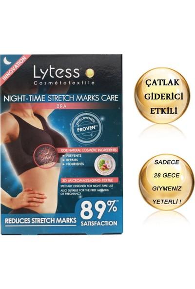 Lytess Night - Time Stretch Marks Care - Çatlak Bakım Etkili Sütyen Black (S - M)