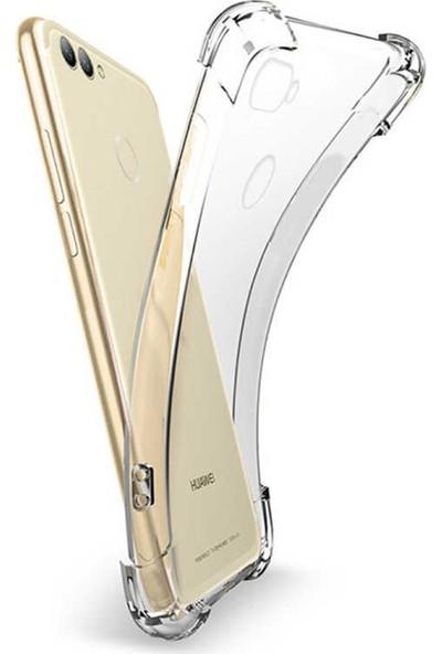 Coverzone Samsung Galaxy S10E Kılıf Ultra Nitro Dört Köşeli Koruma Anti Shock Silikon Kılıf