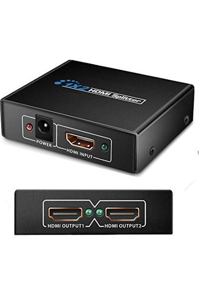 Coverzone 1080P 3D Splıtter Hdmı Çoğaltıcı 1 X 2
