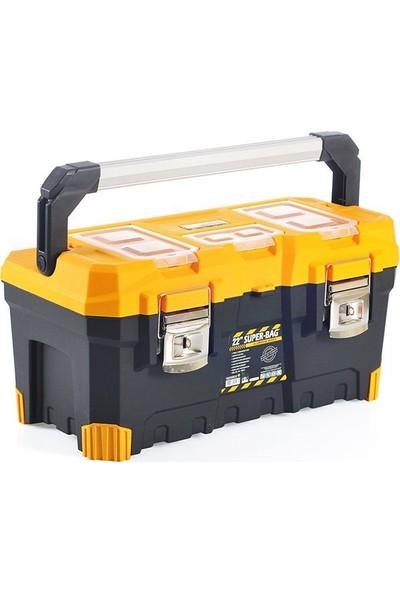 Super Bag 4018 Alüminyum Saplı Takım Çantası 26''
