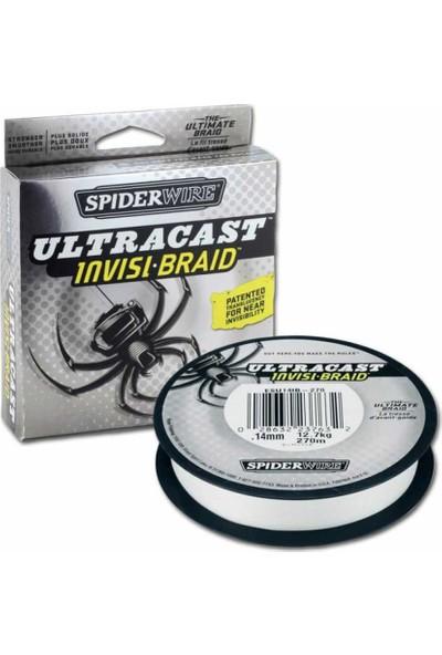 SpiderWire UltraCast Invisi Braid İp Olta Misinası
