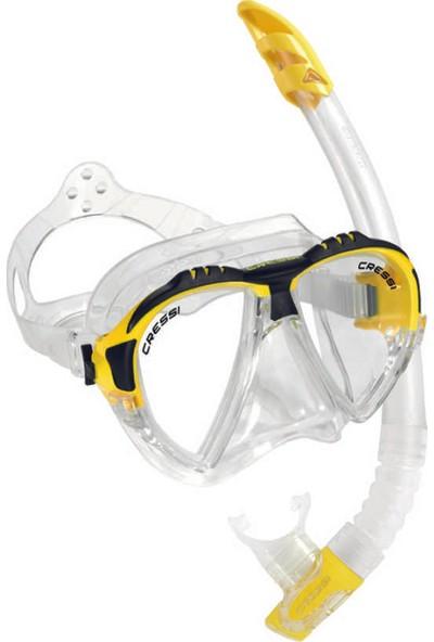 Cressi-Sub Cressi Maske Şnorkel Set (Matrix-Gamma)