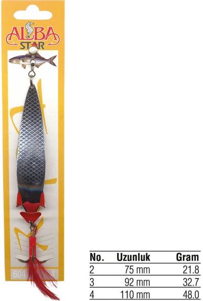 AlbaStar 604 Sarı Kaplama Olta Kaşığı