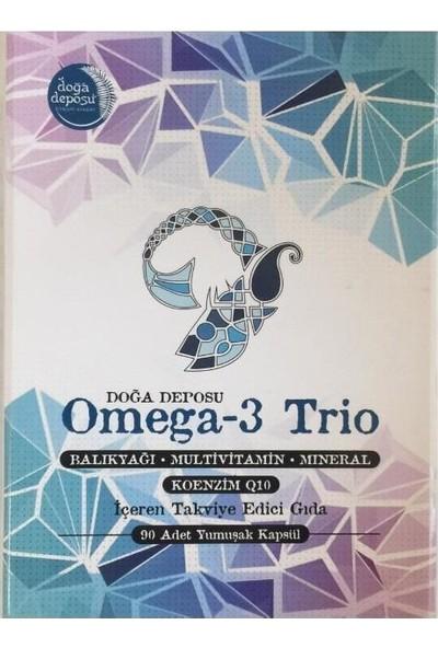 Doğa Deposu Omega-3 Trio 90 Kapsül