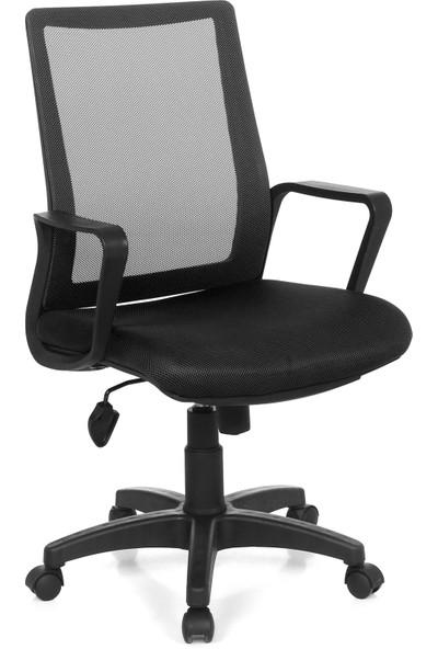 Seduna Etna XWork Siyah Fileli Ofis Çalışma Koltuğu - Bilgisayar Koltuğu