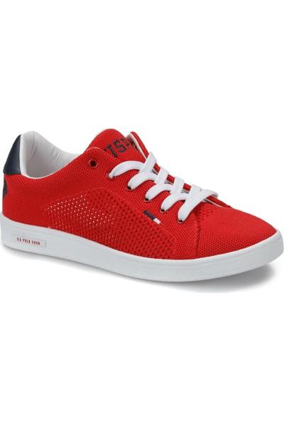 U.S. Polo Assn. Franco Knitting Kırmızı Kadın Sneaker Ayakkabı