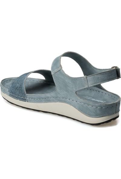 Polaris 91.150784.Z Mavi Kadın Sandalet