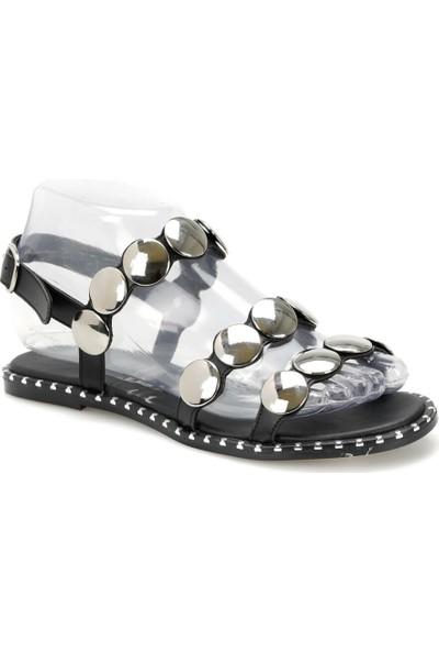 Butigo Ds19080 Siyah Kadın Sandalet