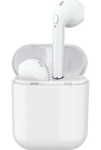 Jwmaster T200 Mikrofonlu True Wireless Bluetooth Kulaklık Beyaz
