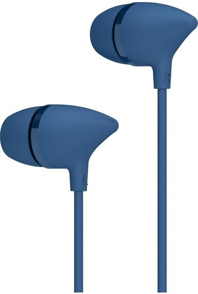 Jwmaster İ11 Mikrofonlu Kulak İçi Kulaklık Mavi