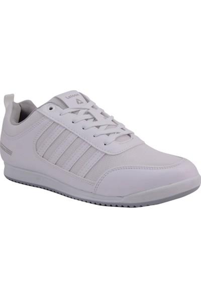 Letoon Beyaz Fileli Erkek Spor Ayakkabı