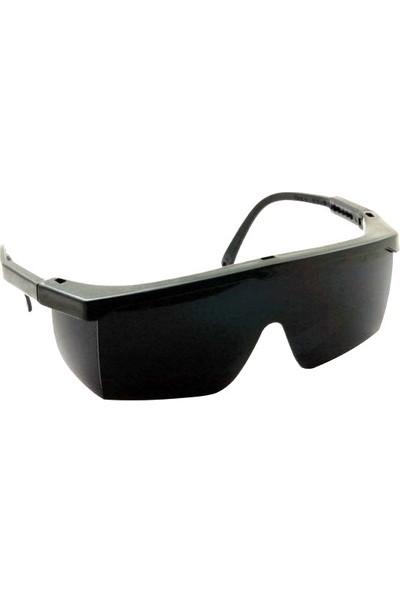 Eltos Ayarlı Çapak Gözlüğü Siyah Koruyucu Gözlük