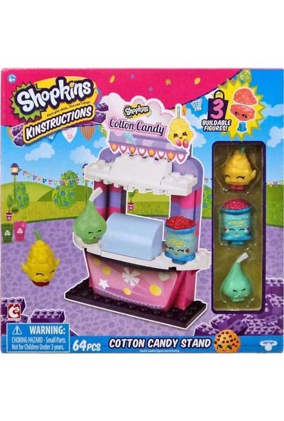 Shopkins Cotton Candy Stand 64 Parça Yapım Seti
