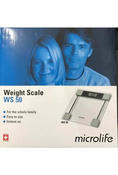 Microlife Ws 50 Dijital Cam Baskül, Banyo Tartısı