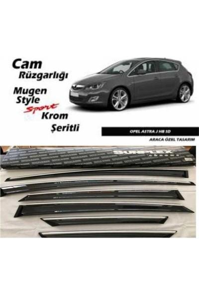Krt Cam Rüzgarlıgı Opel Astra J 2010 2016 6Lı Chrome Style 2010 2015 Chr 05 Sunplex